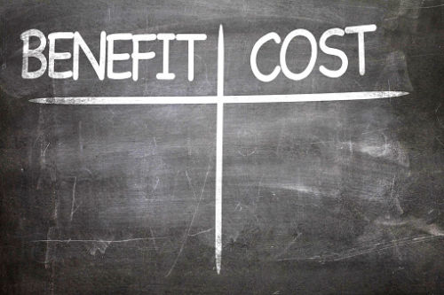Benefit and Cost of Divorce Mediation: Tallies on Chalk Board - KM Family Law